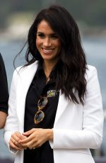 Meghan Markle At Jaguar Land Rover Driving Challenge Day One, Invictus Games, Sydney