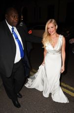 Melinda Messenger At Float Like a Butterfly Ball at Aid of Caudwell Children in London