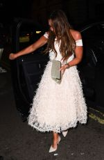 Michelle Heaton At Float Like a Butterfly Ball at Aid of Caudwell Children in London