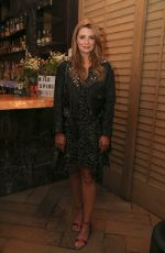 Mischa Barton At Wild Spirit Fragrance Holiday Collection dinner at Norah in West Hollywood