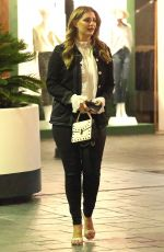 Mischa Barton Films the Hills with Heidi and Spencer Pratt at the Bottlefish in Brentwood