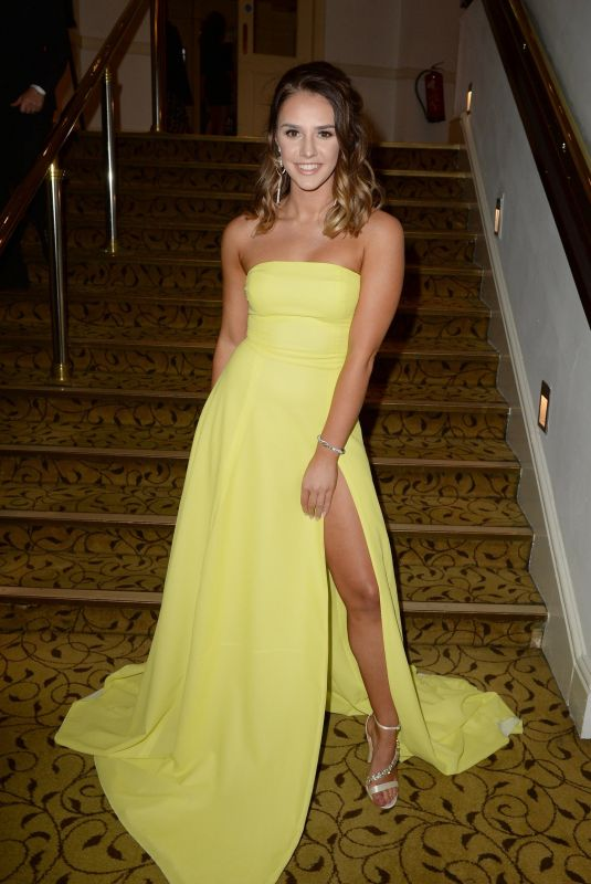 Mollie Winnard At The Manchester Fashion Festival at The Midland Hotel in Manchester