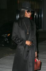 Naomi Campbell Sighting in New York