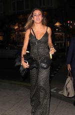 Natalie Pinkham Arriving At Maddox Gallery in London