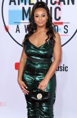 Nia Sioux At American Music Awards, Los Angeles