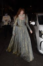 Nicola Roberts Leaving the KISS Haunted House Party at the SSE Arena, London