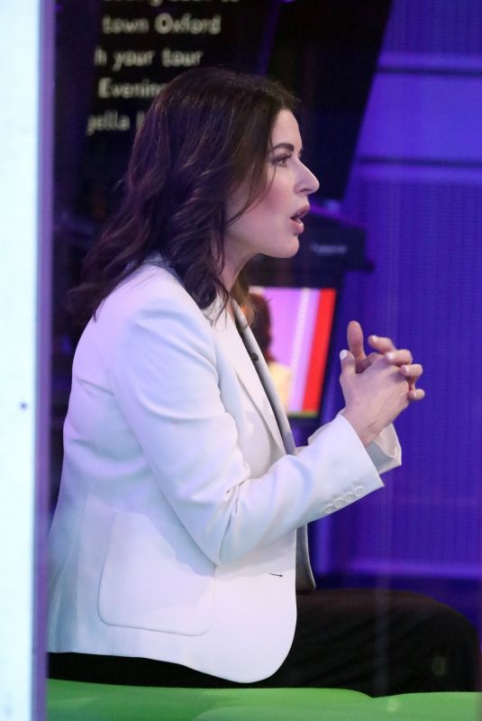 Nigella Lawson and Alex Jones on the topical chat show