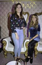 Nikki Sanderson At Scarlet Belle Daydreams luxury salon and spa launch party in Liverpool