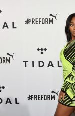Normani Kordei At 4th Annual TIDAL X: Brooklyn at Barclays Center of Brooklyn in New York City