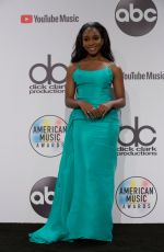 Normani Kordei Attends the 2018 American Music Awards