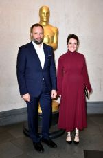 Olivia Colman At The Academy of Motion Picture Arts and Sciences 2018 New Members Reception