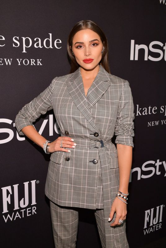 Olivia Culpo At 2018 InStyle Awards in Los Angeles