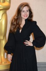 Rachel Shenton At The Academy of Motion Picture Arts and Sciences 2018 New Members Reception