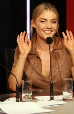 Sam Frost During Telethon in Perth, Western Australia