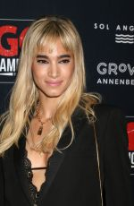 Sofia Boutella At GO Campaign Gala at the City Market Social House in Los Angeles