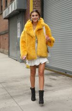 Stefanie Giesinger At Self-Portrait AW18-19 at Sir37 Stages during New York Fashion Week in New York City