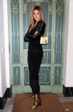 Stefanie Giesinger Attends the Furla Dinner and Party at Borchardt Restaurant