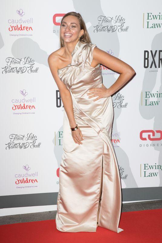Talia Dean At The Caudwell Children Float Like A Butterfly Ball 2018, Grosvenor House, London