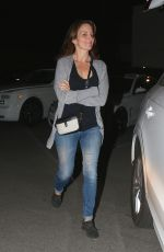 Tina Fey Leaving after a dinner outing with family at Matsuhisa in West Hollywood
