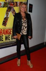 Tricia Penrose At Strangeways Film Premiere in Manchester