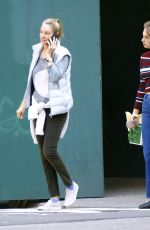 Uma Thurman With her daughter Maya Hawke are walking on Fifth Avenue in New York