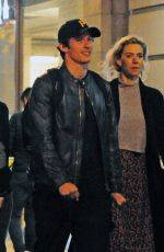 Vanessa Kirby Out for a romantic evening with her beau Callum Turner in London