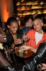 Vanessa Moody At Cindy Bruna celebrates her 24th birthday at the hotel Lutetia in Paris