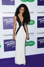 Vick Hope At Specsavers Spectacle Wearer of the Year in London