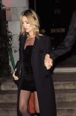 Abbey Clancy Attends the Annabel