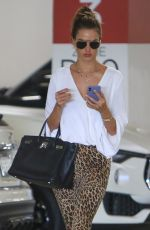 Alessandra Ambrosio After lunch at Eataly L.A. at the Century City Mall in Century City