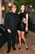 Alessandra Ambrosio At Michael Kors x Kate Hudson dinner, Los Angeles