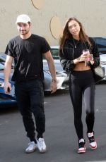 Alexis Ren Outside the DWTS dance studio in Hollywood