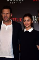 Alia Bhatt At the special panel discussion of Netflix