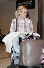 Alice Eve At LAX airport in Los Angeles