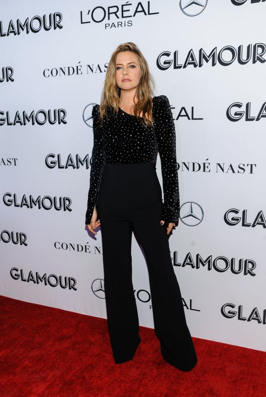 Alicia Silverstone At 2018 Glamour Women of the Year Awards at Spring Studios, New York