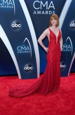 Alicia Witt At The 52nd Annual CMA Awards in Nashville