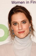 Allison Williams At 100 Women in Finance and Horizons National NYC Gala 2018