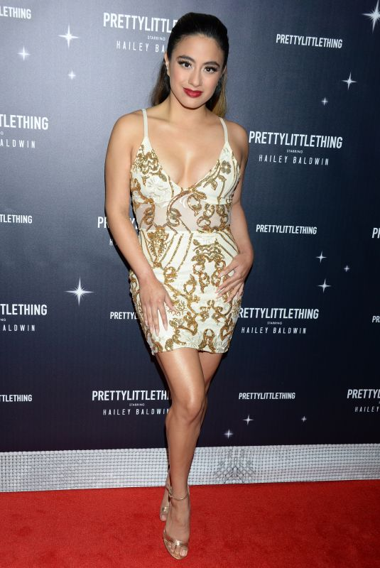 Ally Brooke At PrettyLittleThing x Hailey Baldwin Event in Los Angeles