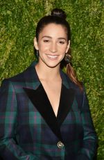 Aly Raisman At 15th Annual CFDA Vogue Fashion Fund Awards, Ceremony, New York