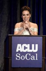 Alyssa Milano At ACLU