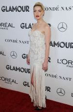 Amber Heard At 2018 Glamour Women Of The Year Awards