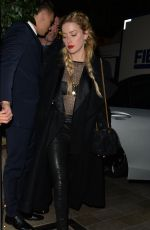 Amber Heard Leaving Mayfair Hotel in London