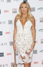 Amber Turner At The Beauty Awards with OK! 2018 held at the Westminster Plaza, London