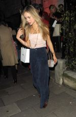 Amelia Windsor At Chanel No. 5 party at Annabel