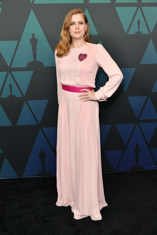 Amy Adams At 10th annual Governors Awards in Hollywood