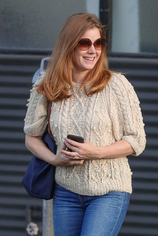 Amy Adams Out running errands after a fitting meeting in West Hollywood