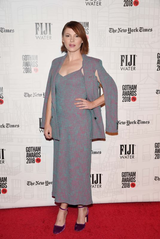 Amy Seimetz At 28th Annual Gotham Awards, New York