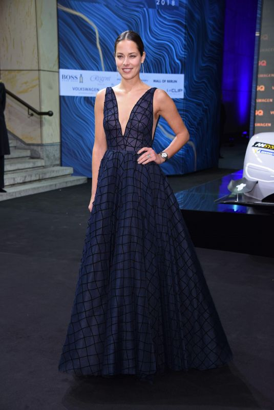 Ana Ivanovic At GQ Men of the Year Awards 2018, Comic Opera in Berlin