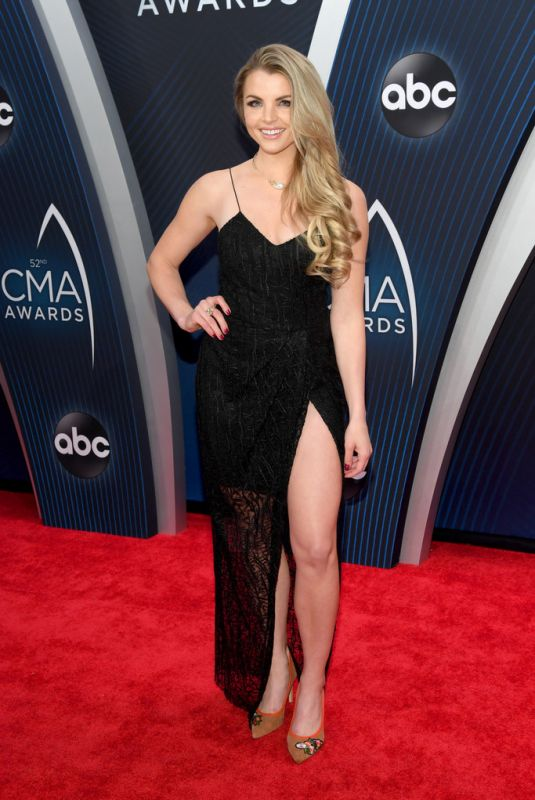 Andrea Boehlke At The 52nd Annual CMA Awards in Nashville