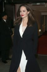 Angelina Jolie Leaving the BFI in London
